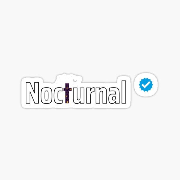 Verified Nocturnal Sticker