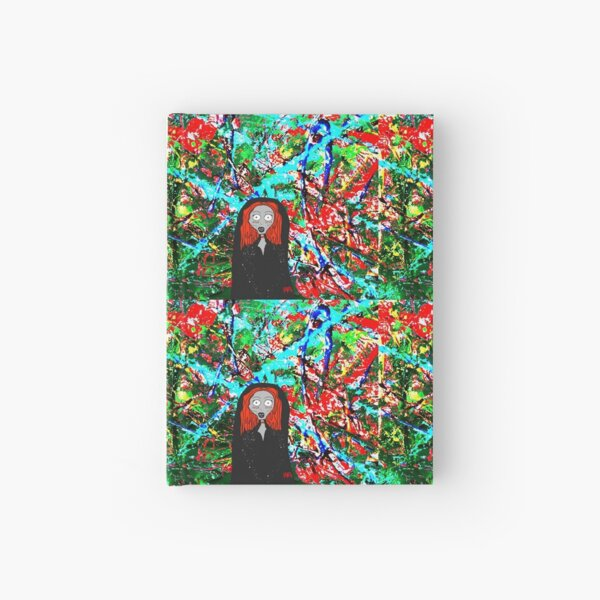 Cartoon Lady Stoneheart Hardcover Journal