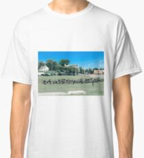 A Flock of Providence Geese Classic T-Shirt