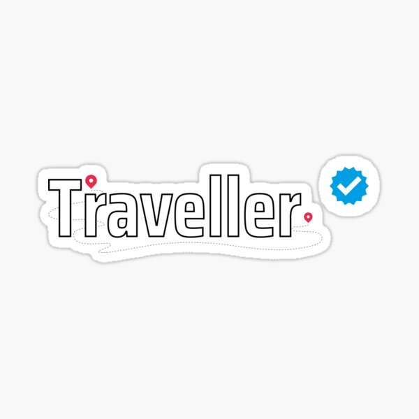 Verified Traveller Sticker