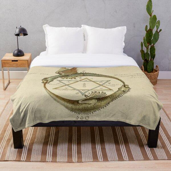 Rosicrucian Alchemy #1 Throw Blanket