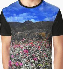 Flower Field Graphic T-Shirt