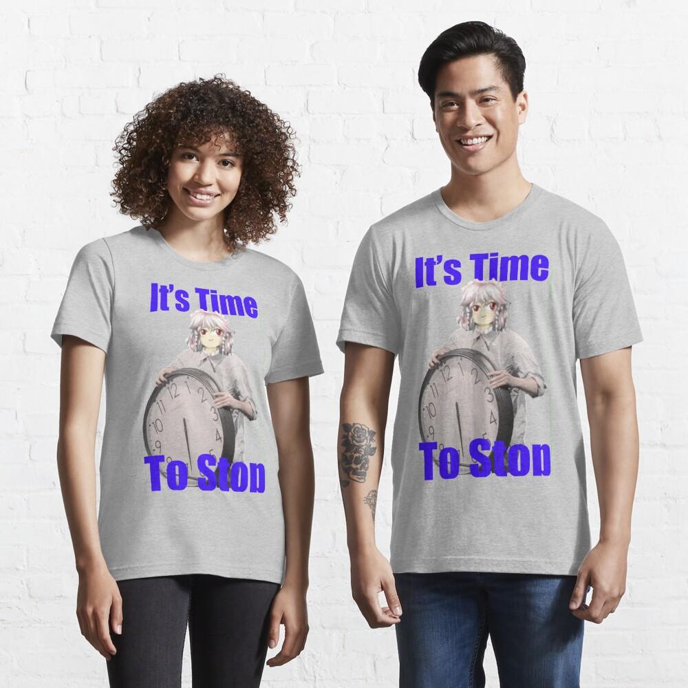 Touhou: Sakuya TIME TO STOP! Essential T-Shirt