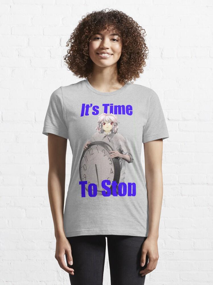 Alternate view of Touhou: Sakuya TIME TO STOP! Essential T-Shirt