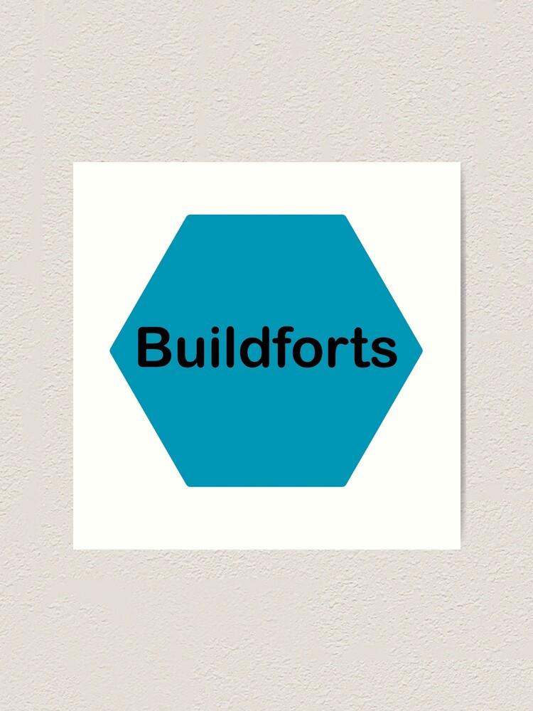 Alternate view of Buildforts  Art Print