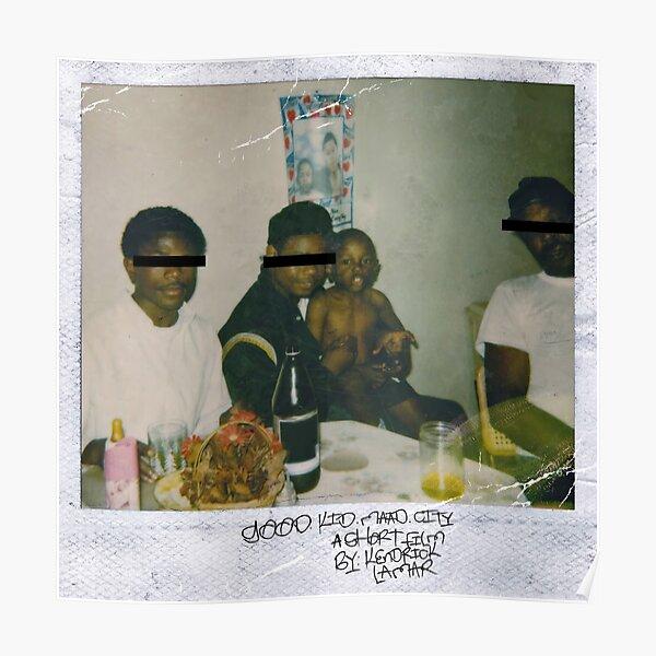 Kendrick Lamar - Good Kid, pochette d'album de ville M.A.A.D Poster