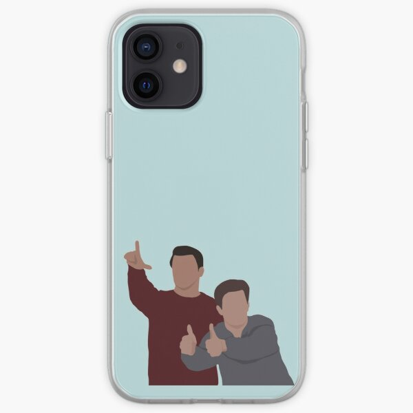 Joey und Chandler iPhone Flexible Hülle