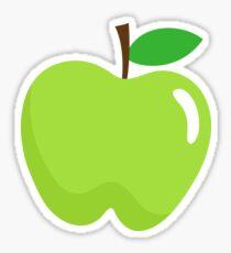 Green apple stickers Sticker