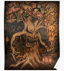 Money is the Root of All Evil Tree Poster