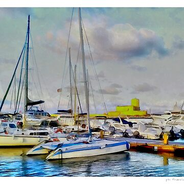 Trapani, the port by FrinK