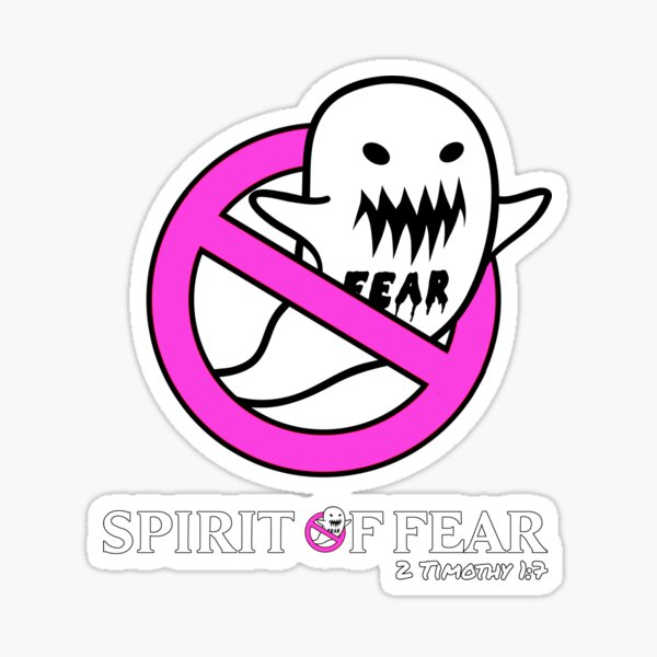 Fearbusters parody - pink Sticker