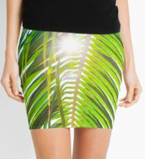 Palm Trees Mini Skirt
