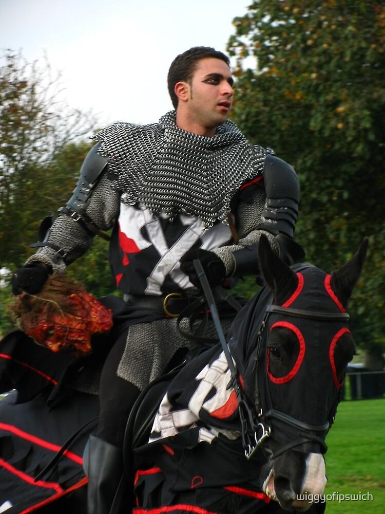 Victorious Black Knight by wiggyofipswich