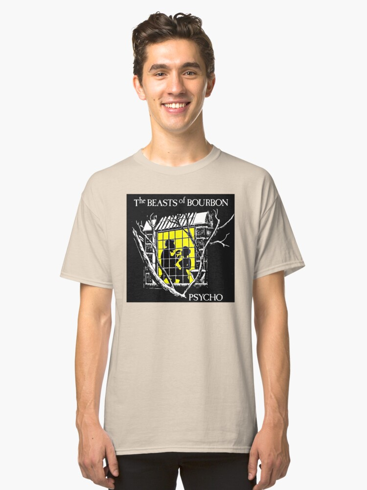 Beasts of Bourbon Classic T-Shirt Front