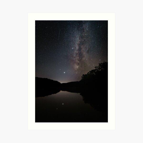 winter solstice jupiter saturn, Great Conjunction 2020 Art Print