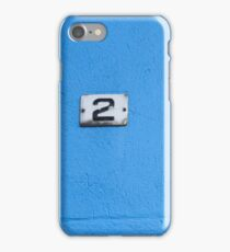Number 2 iPhone Case/Skin