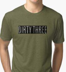 Dirty Three Tri-blend T-Shirt
