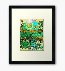 The time travellers guide to the stars Framed Print