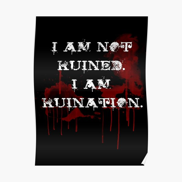 Ruination  Poster
