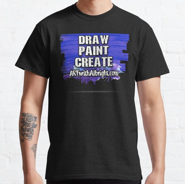 ART with Albright Logo Style 5 Classic T-Shirt