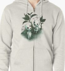 Natural History - Forest Spirit studies Zipped Hoodie