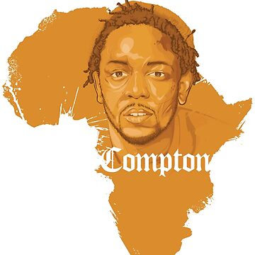 Kendrick Lamar Africa Compton  by boldpointdesign