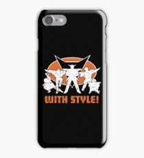 ginyu force iPhone Case/Skin