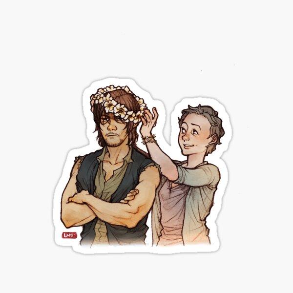 TWD_daryl et carol Sticker
