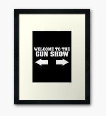 gun show Framed Print