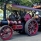 0836 NZ Steam Fair - Red     by DavidsArt