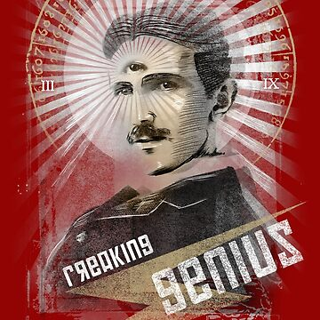 Tesla t-shirt by os-frontis