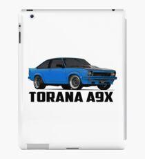 Holden Torana - A9X Hatchback - Blue iPad Case/Skin