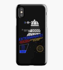 NINTENDO: NES EXTERMINATE! iPhone Case/Skin