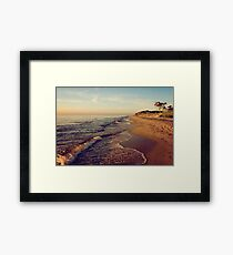 Prerow West beach Framed Print
