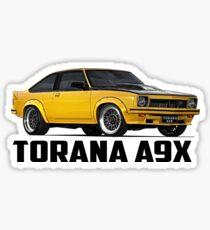 Holden Torana - A9X Hatchback - Yellow Sticker