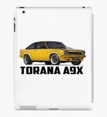Holden Torana - A9X Hatchback - Yellow iPad Case/Skin