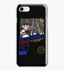 NINTENDO: NES DOCTOR HORRIBLE  iPhone Case/Skin