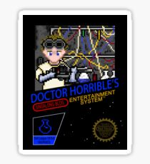 NINTENDO: NES DOCTOR HORRIBLE  Sticker