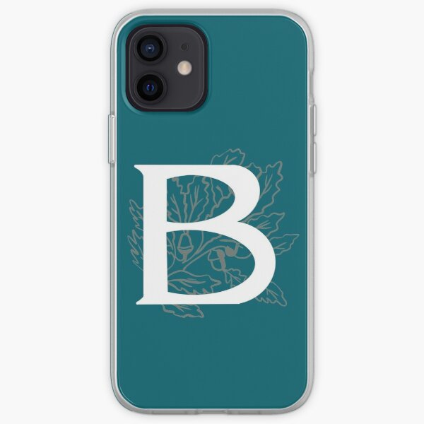 The Initial B iPhone Soft Case