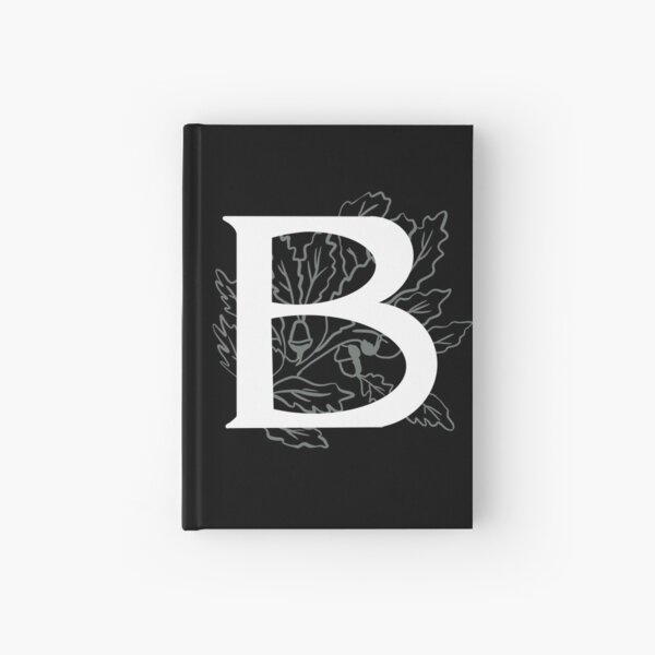 The Initial B Hardcover Journal