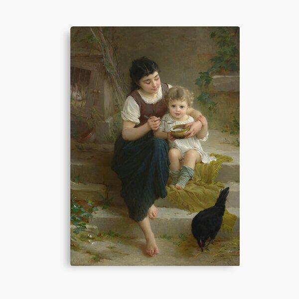 Emile Munier - La Grande Soeur Canvas Print