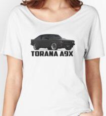 Holden Torana - A9X Hatchback - Black Women's Relaxed Fit T-Shirt