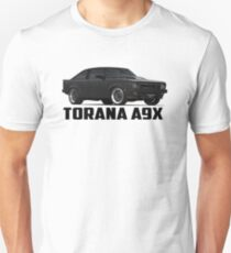 Holden Torana - A9X Hatchback - Black T-Shirt