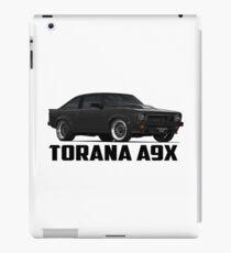 Holden Torana - A9X Hatchback - Black iPad Case/Skin