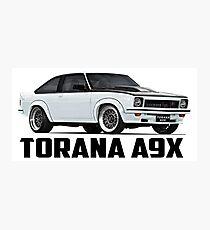 Holden Torana - A9X Hatchback - White Photographic Print