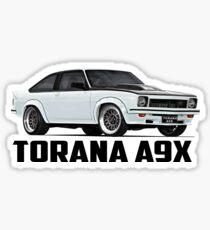 Holden Torana - A9X Hatchback - White Sticker