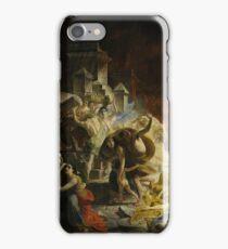 Karl Bryullov Bryullo - The Last Day of Pompeii 1830 - 1833 iPhone Case/Skin