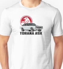 Holden Torana - A9X Hatchback - White 2 Unisex T-Shirt