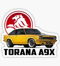 Holden Torana - A9X Hatchback - Yellow 2 Sticker