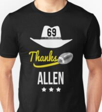 Allen Jared tribute 69 thanks fans T-shirt hommage  T-Shirt